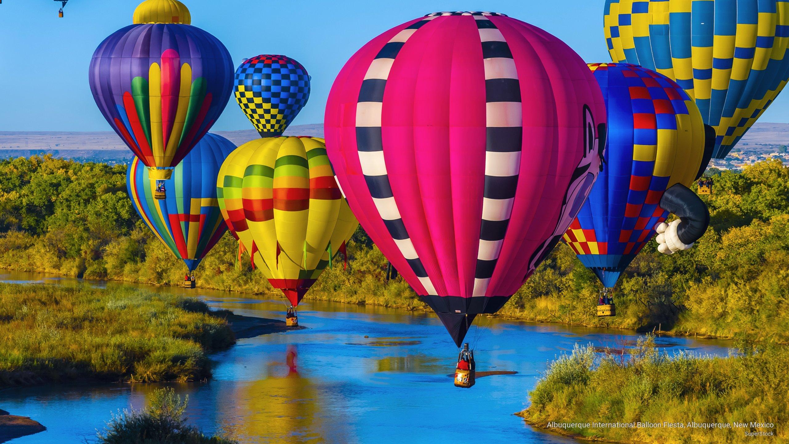 Albuquerque International Balloon Fiesta, Albuquerque, New Mexico