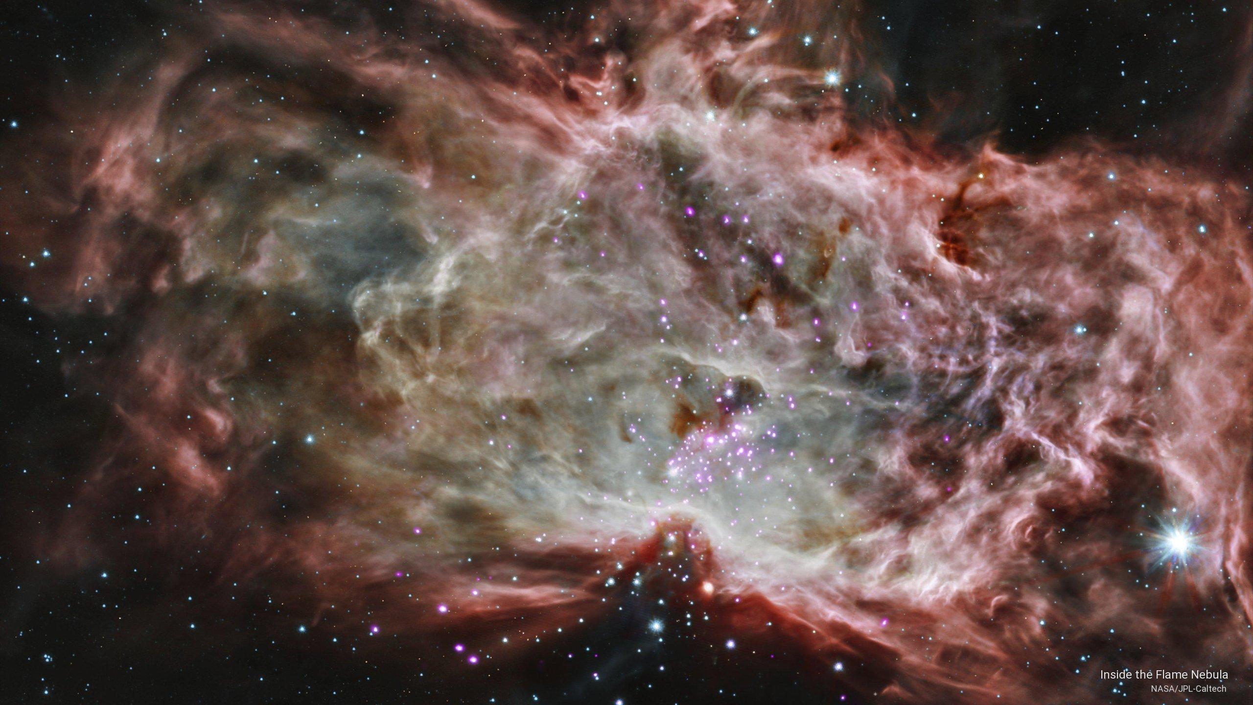 Inside the Flame Nebula