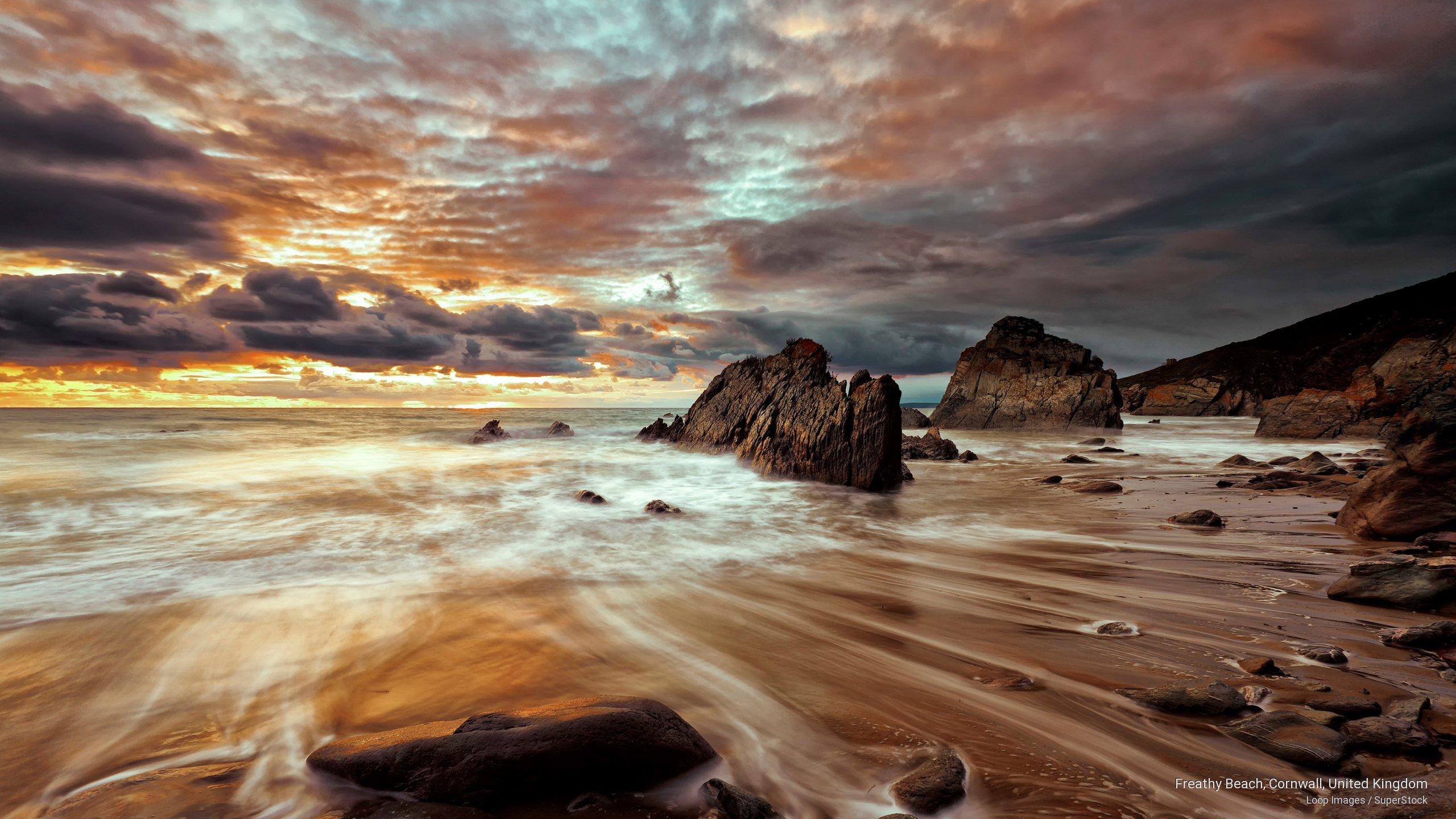 Freathy Beach, Cornwall, United Kingdom
