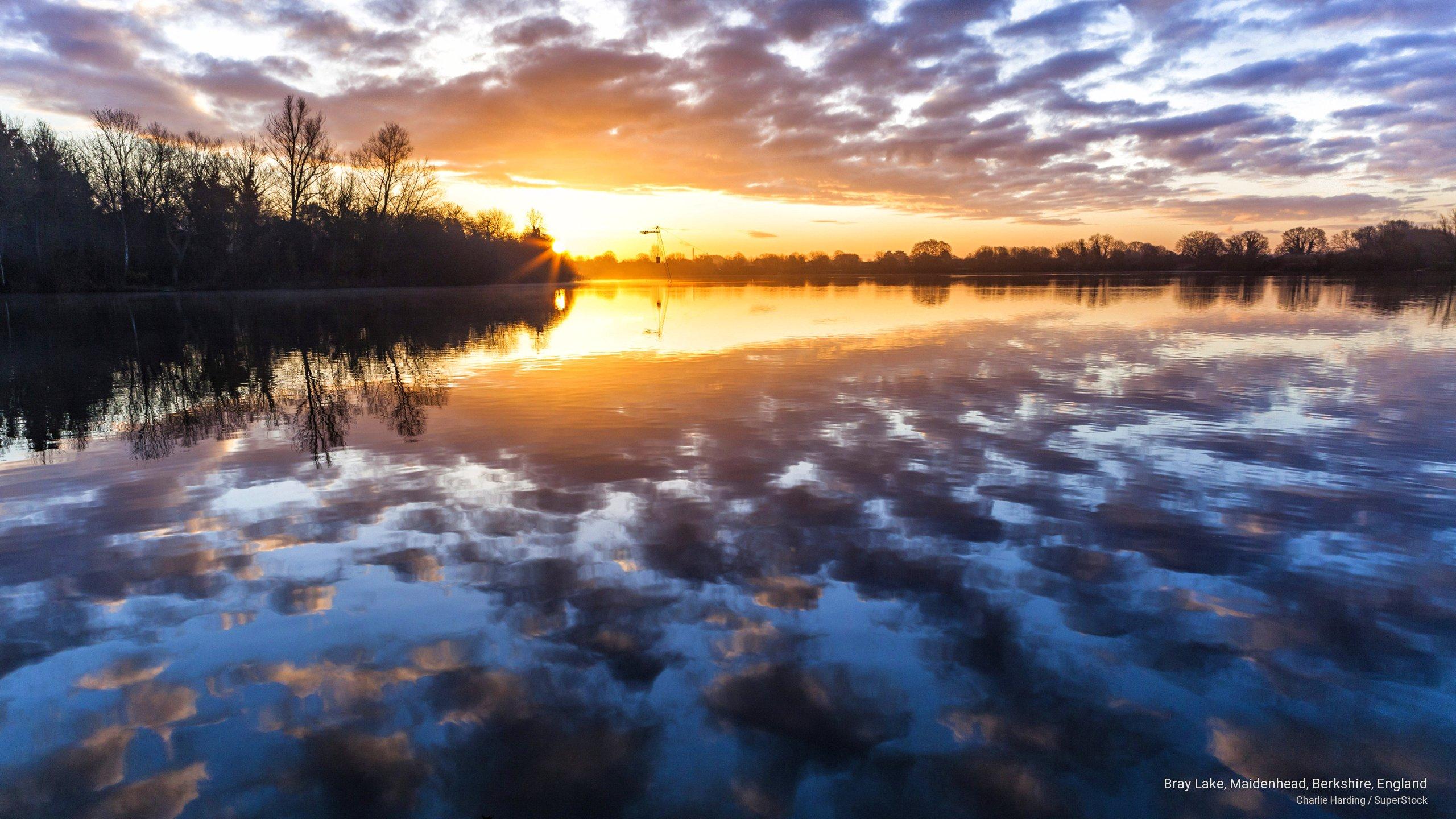 Bray Lake, Maidenhead, Berkshire, England