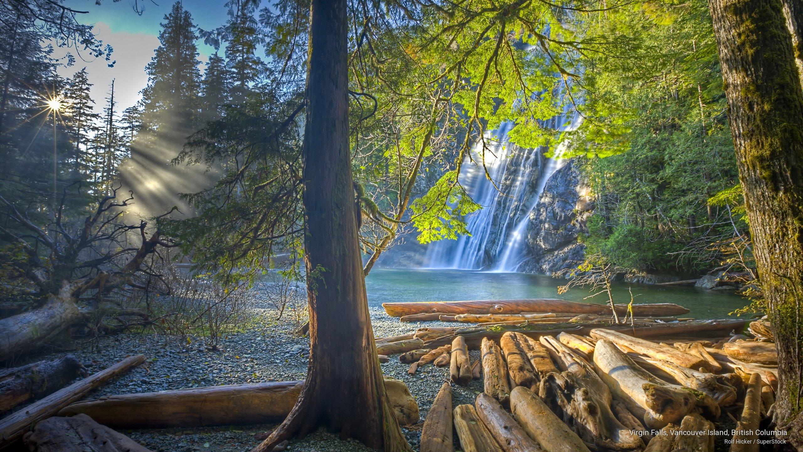 Virgin Falls, Vancouver Island, British Columbia